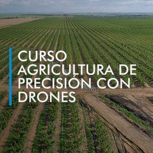 curso agricultura precisión drones
