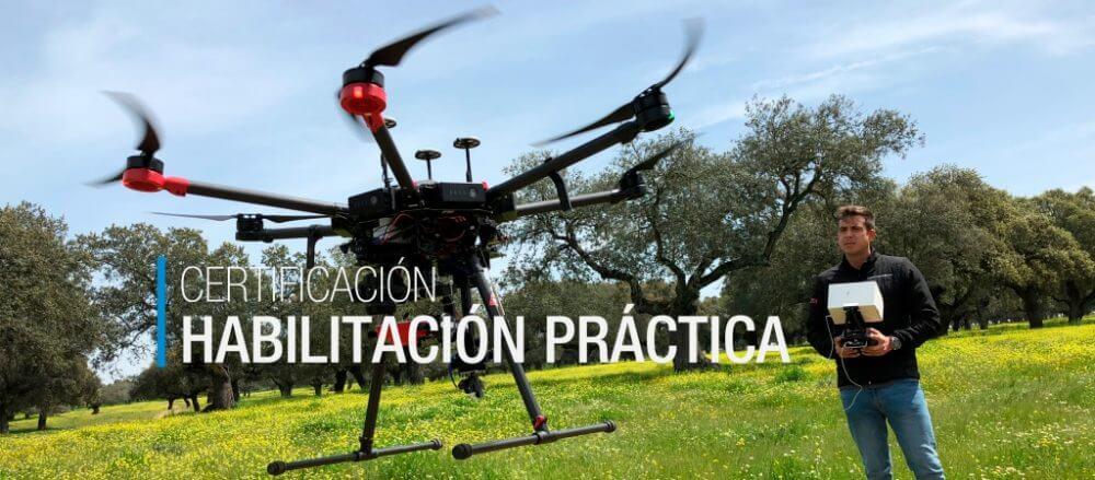 ¿Qué habilitación práctica con drones me conviene? ¡Descúbrelo!