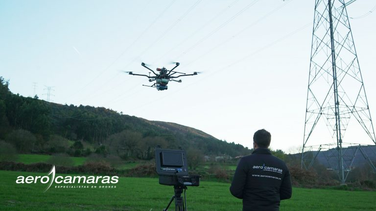 Inspecciones de redes eléctricas con drones