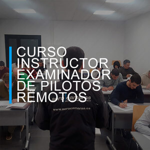curso instructor examinador pilotos dron
