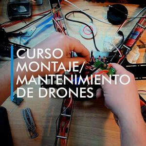 curso montaje mantenimiento drones