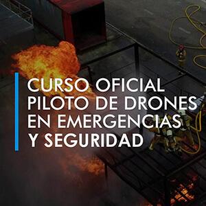 curso oficial emergencias y seguridad con drones