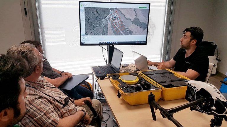curso topografía con drones aula sexta aerocamaras