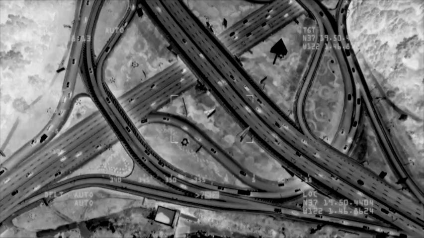 Control del tráfico en curso de drones en emergencias