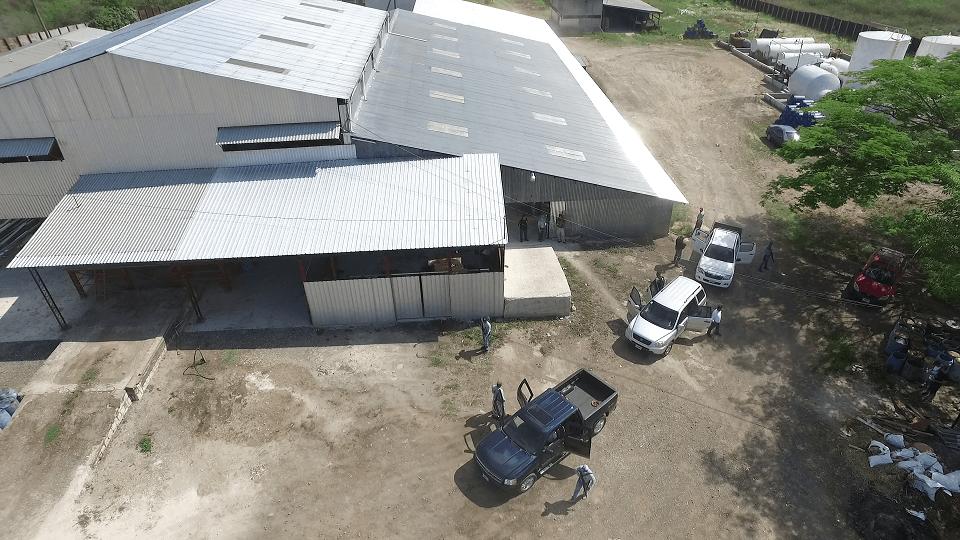 Soporte aéreo en curso de drones en emergencias
