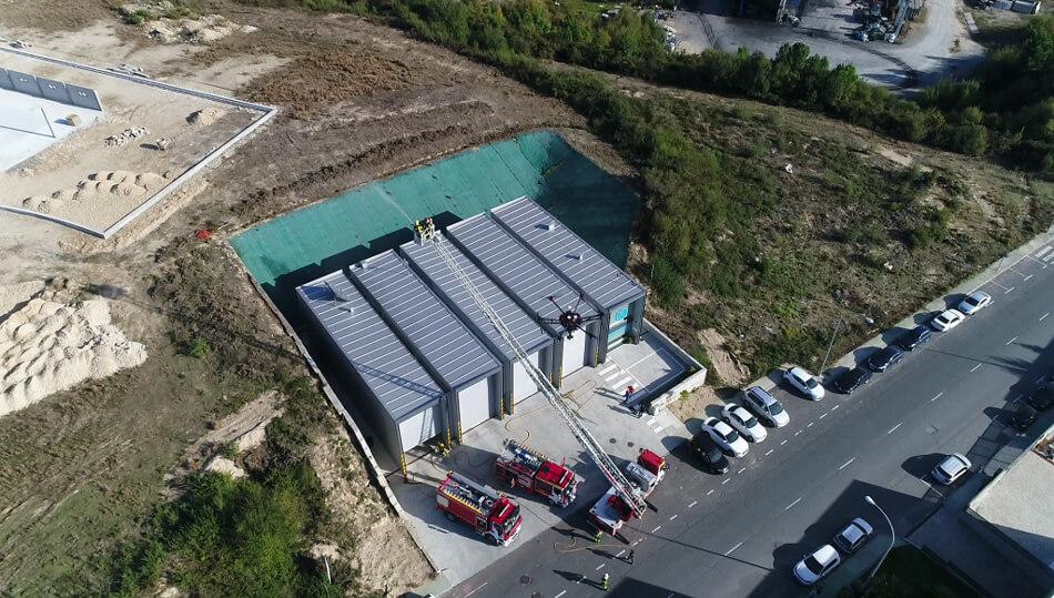 Colaboración con bomberos en curso de drones en emergencias 2