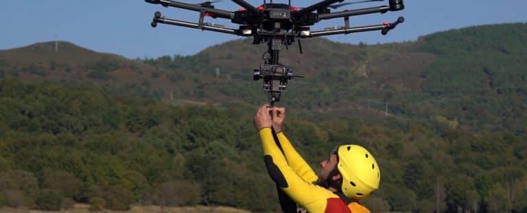 El uso de los drones en emergencias y seguridad