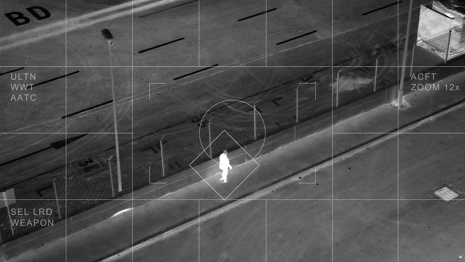 Detección de personas en curso de drones en emergencias
