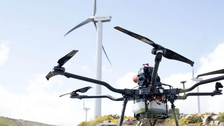 Las inspecciones técnicas de aerogeneradores con drones crecen a pasos agigantados