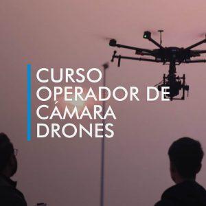 curso operador camara drones