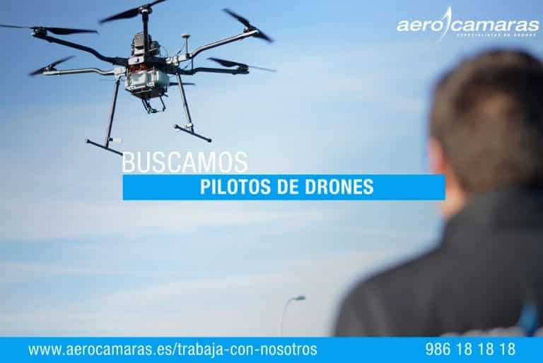oferta piloto drones aerocamaras