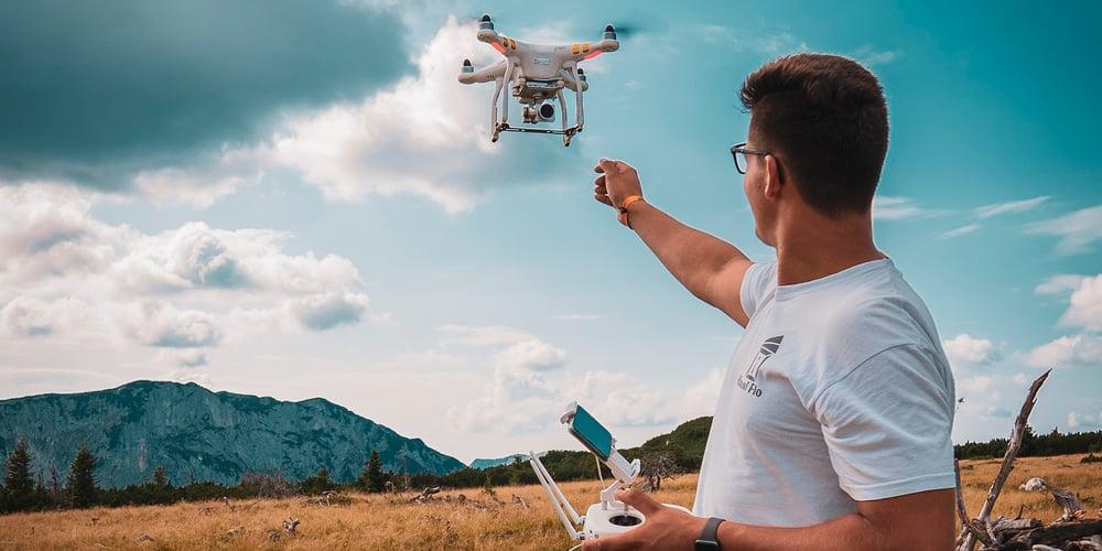 ¿Cómo puedes volar tu dron de forma recreativa?