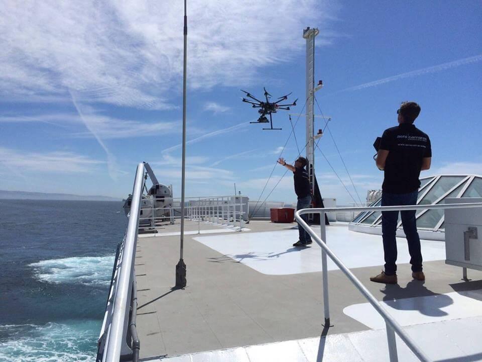 Siete consejos sobre cómo volar tu dron sobre el mar