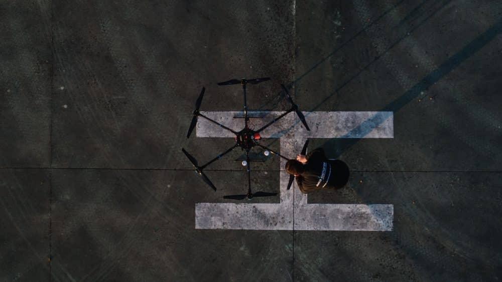 Drone Hibrido Helipuerto Aerocamaras
