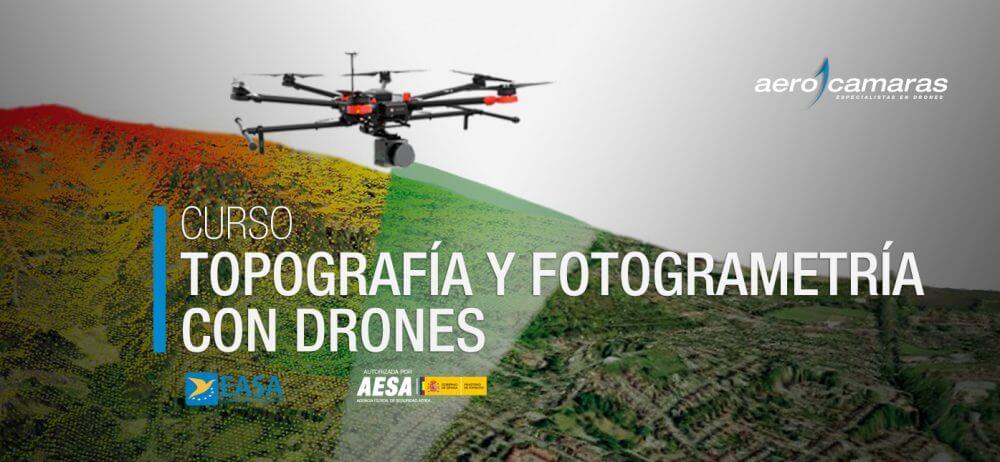 curso topografia drones aerocamaras