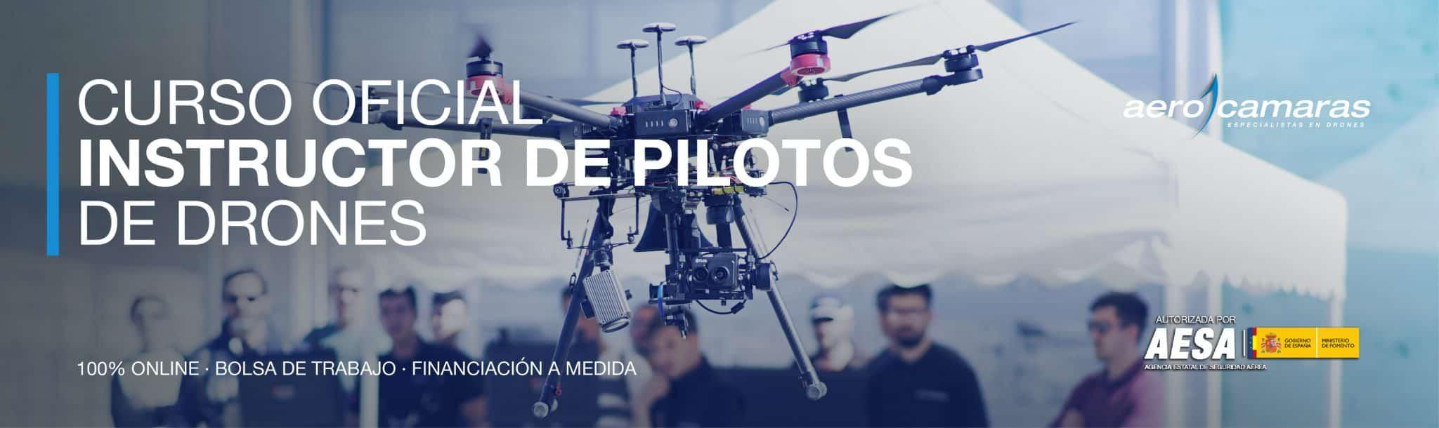 Curso oficial de instructor de pilotos de drones