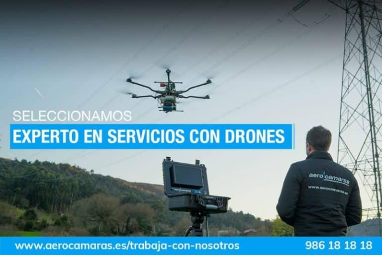 oferta de trabajo: experto servicios con drones