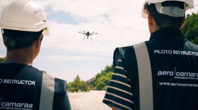 Instructores en Curso de piloto de drones en topografía y fotogrametría