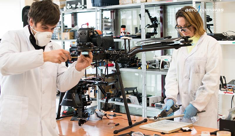 curso de montaje drones