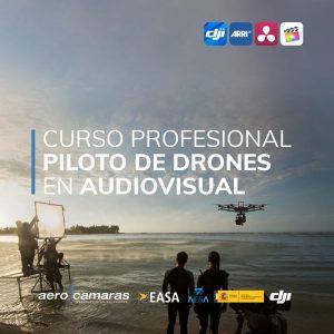 curso piloto de drones en audiovisual