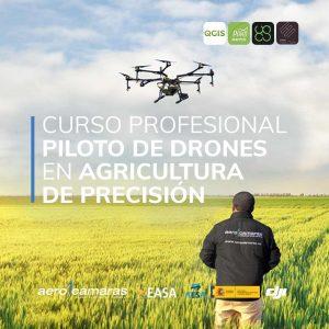 curso profesional drones agricultura