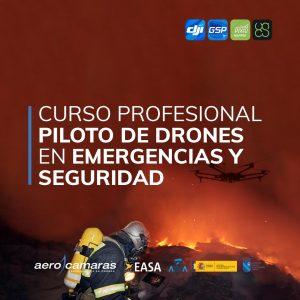 curso profesional drones emergencias
