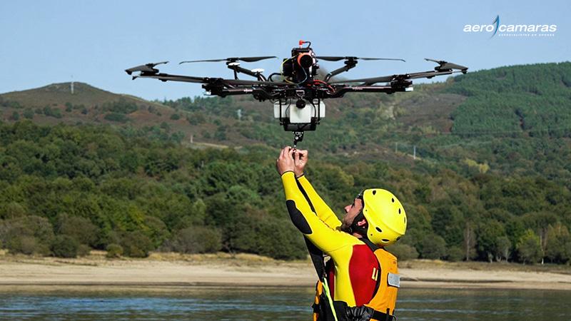 Trabajos de emergencias con drones para ayuntamientos