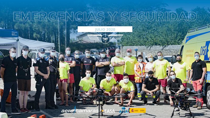 curso de piloto de drones en emergencias y seguridad 2020