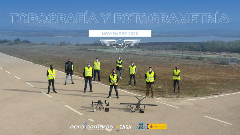 curso topografia y fotogrametria con drones aerocamaras 2020