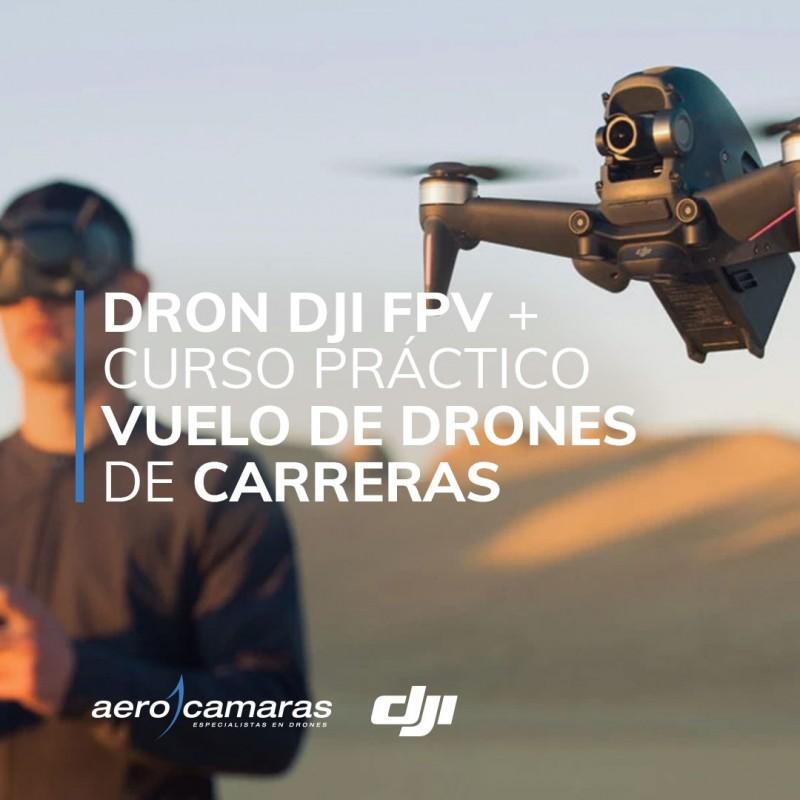 Dron DJI FP curso práctico vuelo de drones de carreras