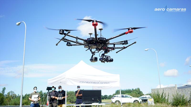 Drones en ayuntamientos y administraciones públicas