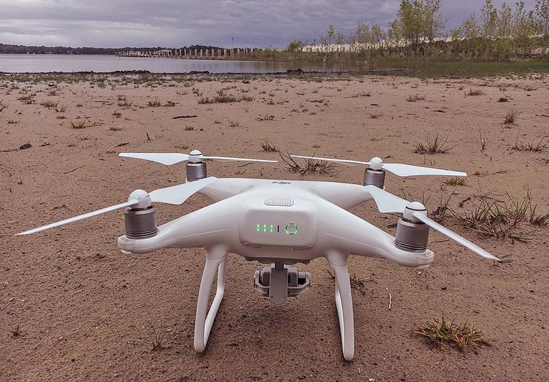 Drone DJI para la industria pesquera