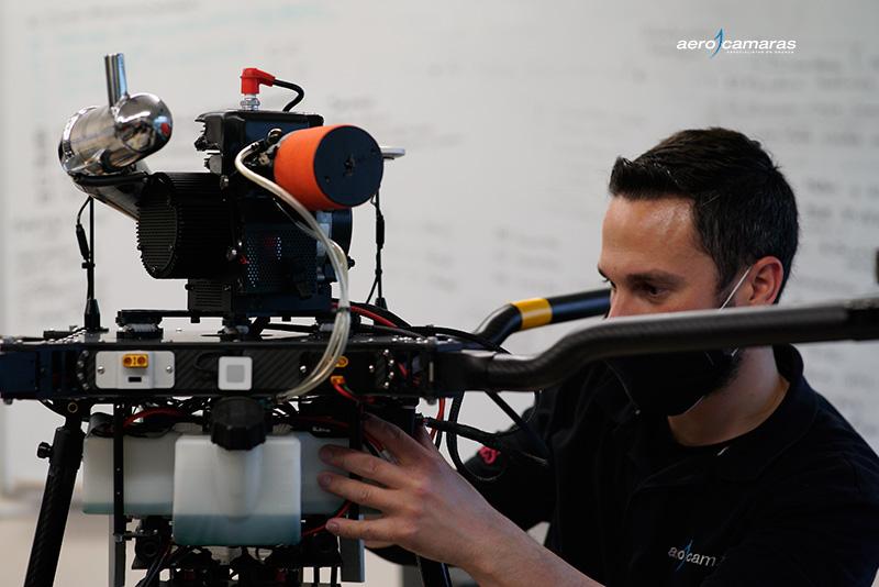 como montar un dron profesional