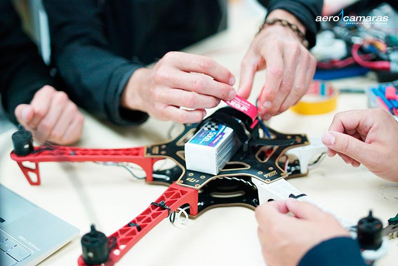 montaje y mantenimiento de drones